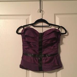 3 for $30 Bebe violet purple tube top